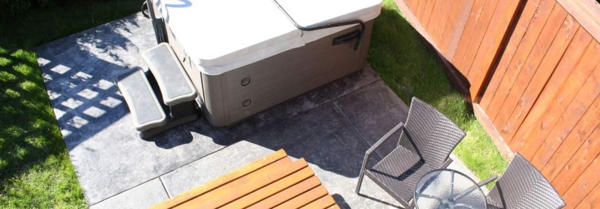 patio jacuzzi hot tub slim