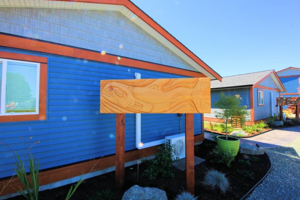 outside orca cottage