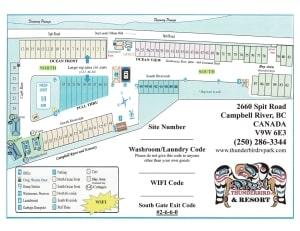 Resort site map