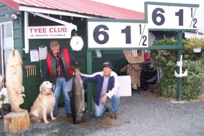 tyee club salmon .lb