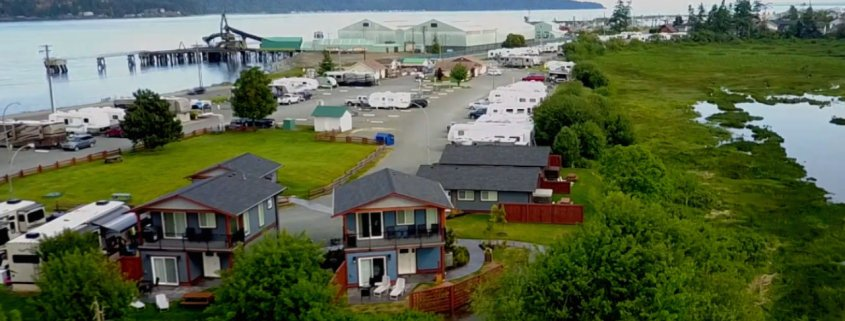view cottages rv park campbell river